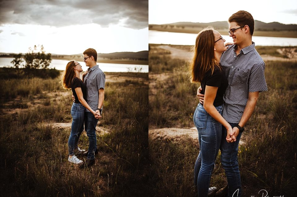 Izak and Mia | Young Love | Leslie Dam Warwick Qld